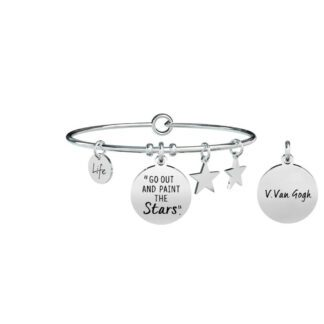 Bracciale Donna Kidult in Acciaio  Go out and... - Philosophy - 731505