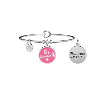 Bracciale Kidult in Acciaio Be Yourself - Philosophy - 731709