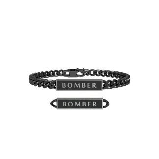 Bracciale Kidult in Acciaio Bomber - Free Time - 731802