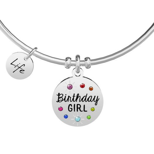 Bracciale Kidult in Acciaio Birthday Girl - Special Moments - 731891